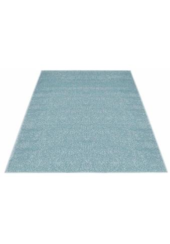 Carpet City Teppich »Moda Soft 2081«, rechteckig, 11 mm Höhe, pastell Farben, Kurzflor, Wohnzimmer kaufen