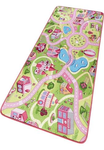 HANSE Home Kinderteppich »Sweettown«, rechteckig, 7 mm Höhe, Kinder Strassen-Spielteppich, Kurzflor kaufen