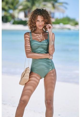 LASCANA Badeanzug, mit Raffungen und Shaping-Effekt kaufen