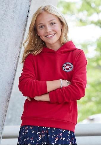 TOM TAILOR Polo Team Kapuzensweatshirt, mit Logo Badge kaufen