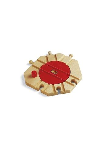 BRIO® Spielzeugeisenbahn-Kreuzung »BRIO® WORLD Mechanische Drehscheibe« kaufen