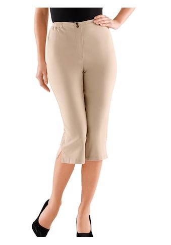 Classic Basics Capri - Jeans mit bequemem Rundum - Dehnbund kaufen