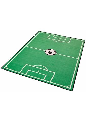 Zala Living Kinderteppich »Fussballfeld 1«, rechteckig, 8 mm Höhe, Kurzflor, Fussball Spielteppich kaufen