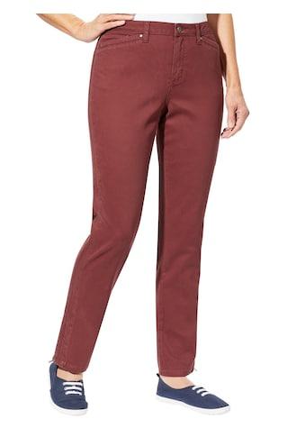 Casual Looks Hose mit auffallenden Ziernähten kaufen