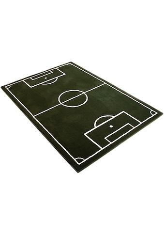 HANSE Home Kinderteppich »Fussballplatz«, rechteckig, 9 mm Höhe, Fussball, Spielteppich kaufen