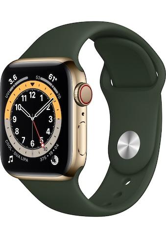 Apple Smartwatch »Watch Series 6«, ( Watch OS inkl. Ladestation (magnetisches Ladekabel)) kaufen