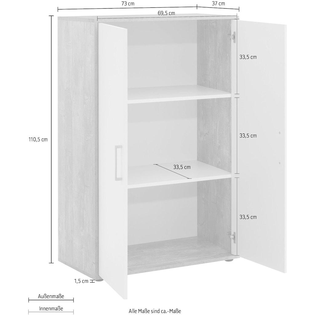 Wilmes Aktenschrank »MULTI«, 2 Türen; breit