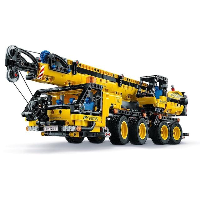 "LEGO® Konstruktionsspielsteine ""Kran-LKW (42108), LEGO® Technic"", Kunststoff, (1292-tlg.)"