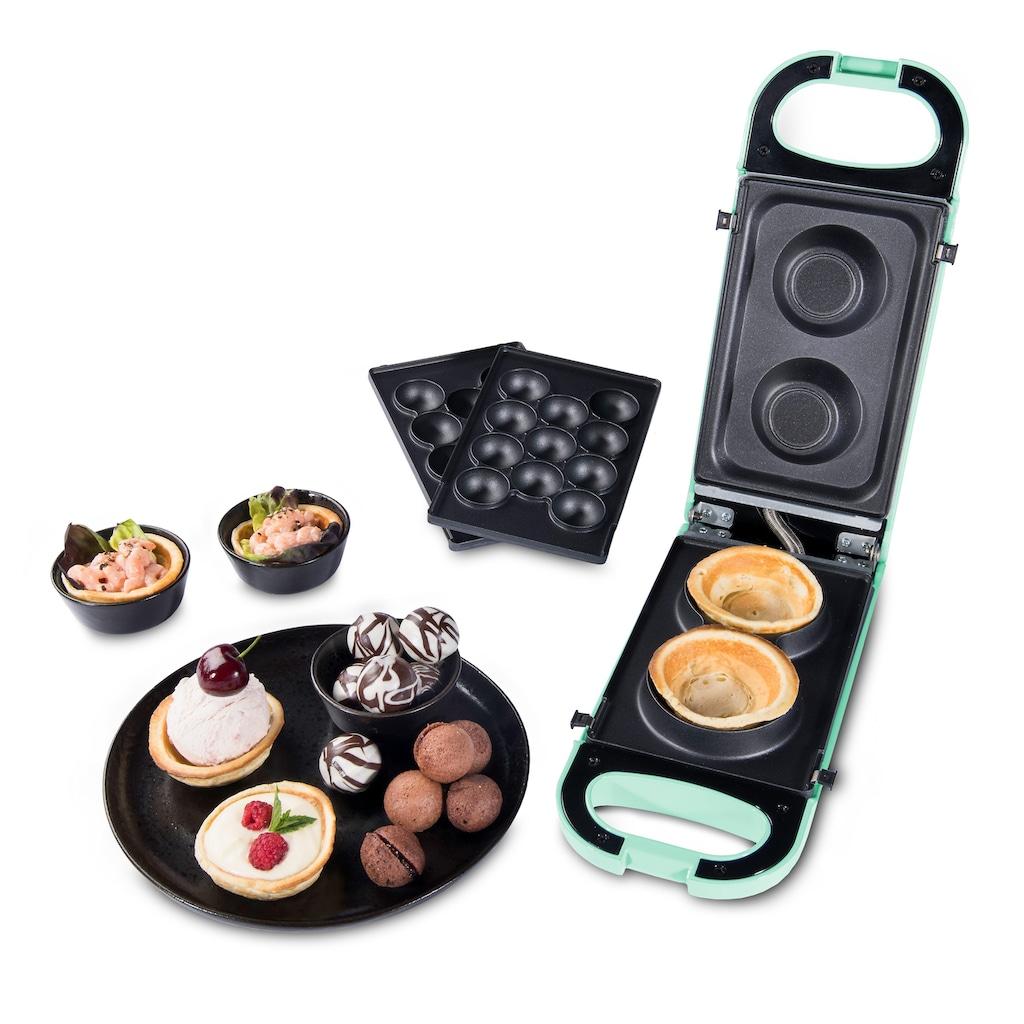 "Trisa 2-in-1-Kombi-Waffeleisen »Snack Maker ""Retro Line""«, 700 W"