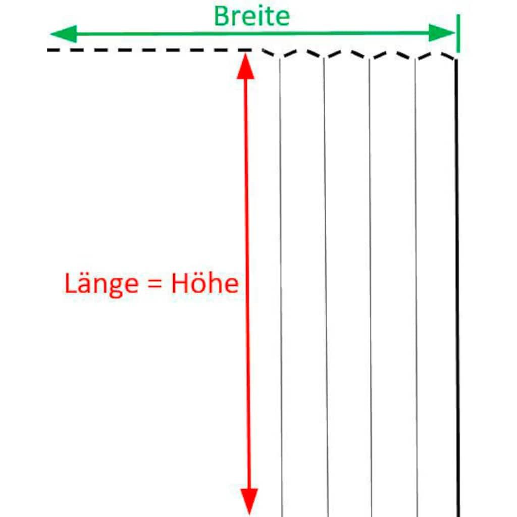 VHG Gardine nach Mass »Leon«, Verdunkelung, Dim Out, Deko, Breite 145 cm