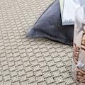 Paco Home Teppich »Timber 125«, rechteckig, 7 mm Höhe, In- und Outdoor geeignet, Wohnzimmer