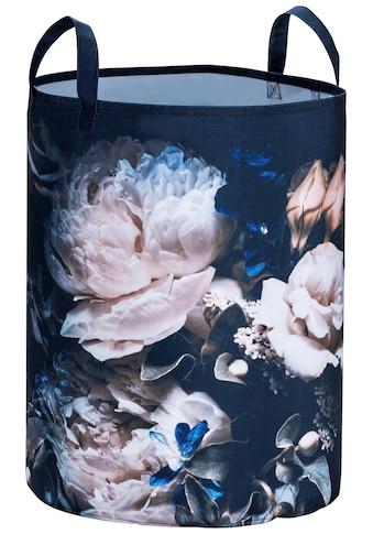 WENKO Wäschekorb »Peony«, mit Blumenmotiv kaufen
