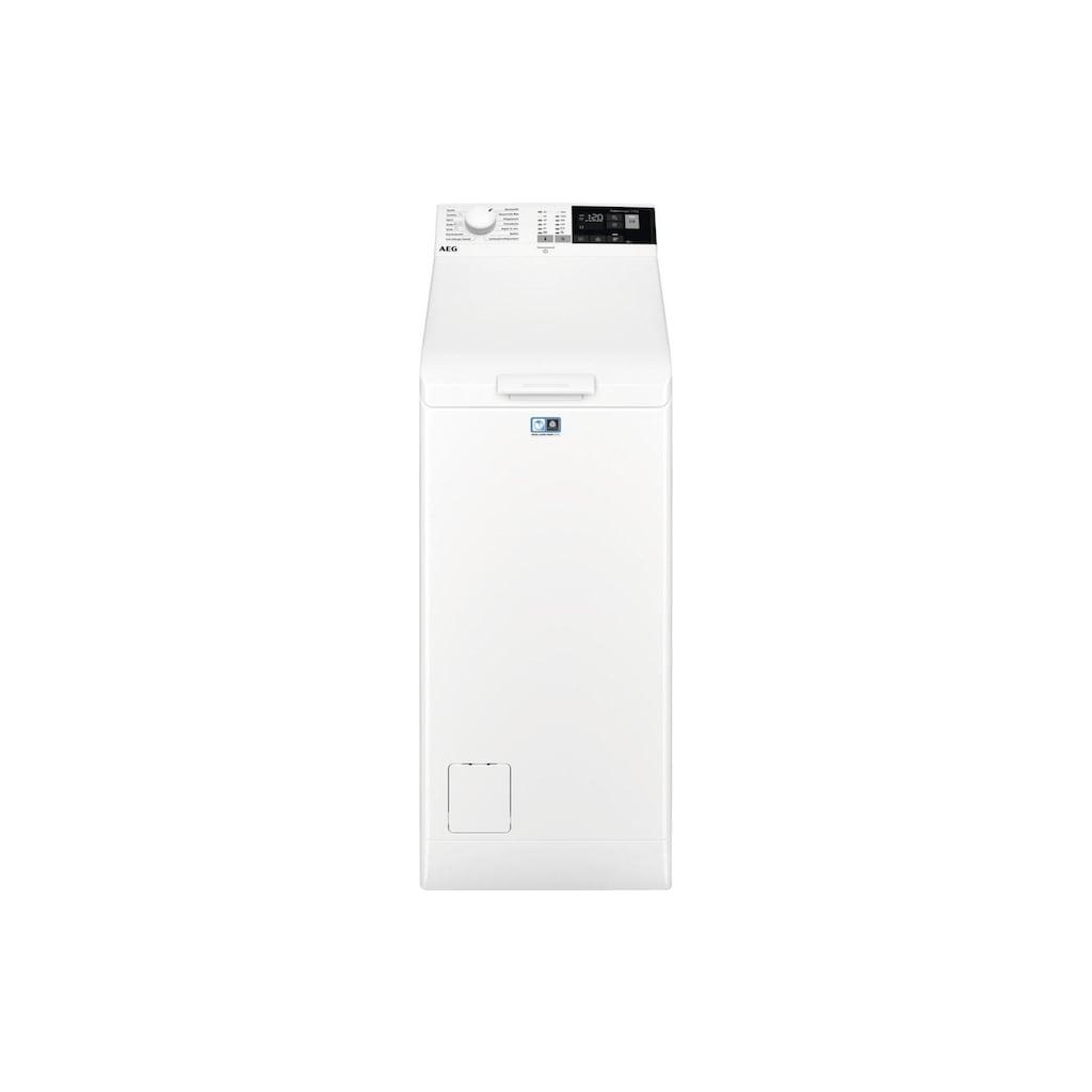 AEG Waschmaschine Toplader, Toplader LB1360 A+++