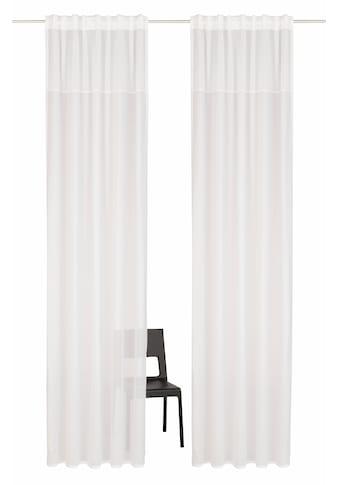 Home affaire Gardine »Riga«, Vorhang, Fertiggardine, HxB: 300x140, transparent kaufen