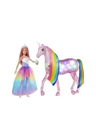 Barbie Spielfigur »Dreamtopia Zauberlicht Einhorn« kaufen