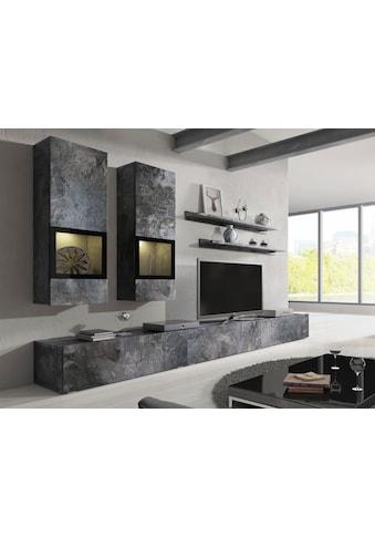 TRENDMANUFAKTUR Wohnwand »Baros« (Set, 6 - tlg) acheter