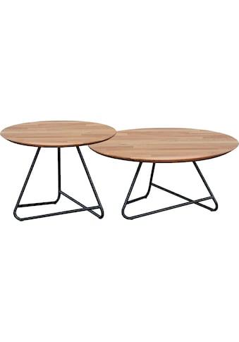 andas Couchtisch »Tonka«, Tischplatte aus massiver Eiche kaufen