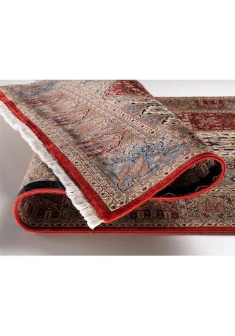 OCI DIE TEPPICHMARKE Läufer »Sonam Bakhtyari«, rechteckig, 6 mm Höhe, handgeknüpft, mit Fransen kaufen