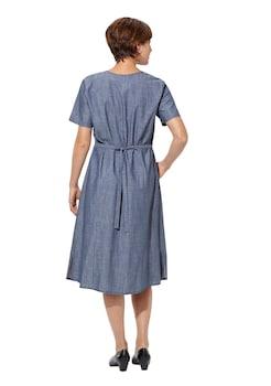 Classic Basics Kleid in modischer Leinen - Optik kaufen ba587d1631