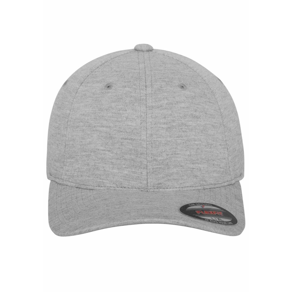 Flexfit Baseball Cap, Double Jersey, hinten geschlossen