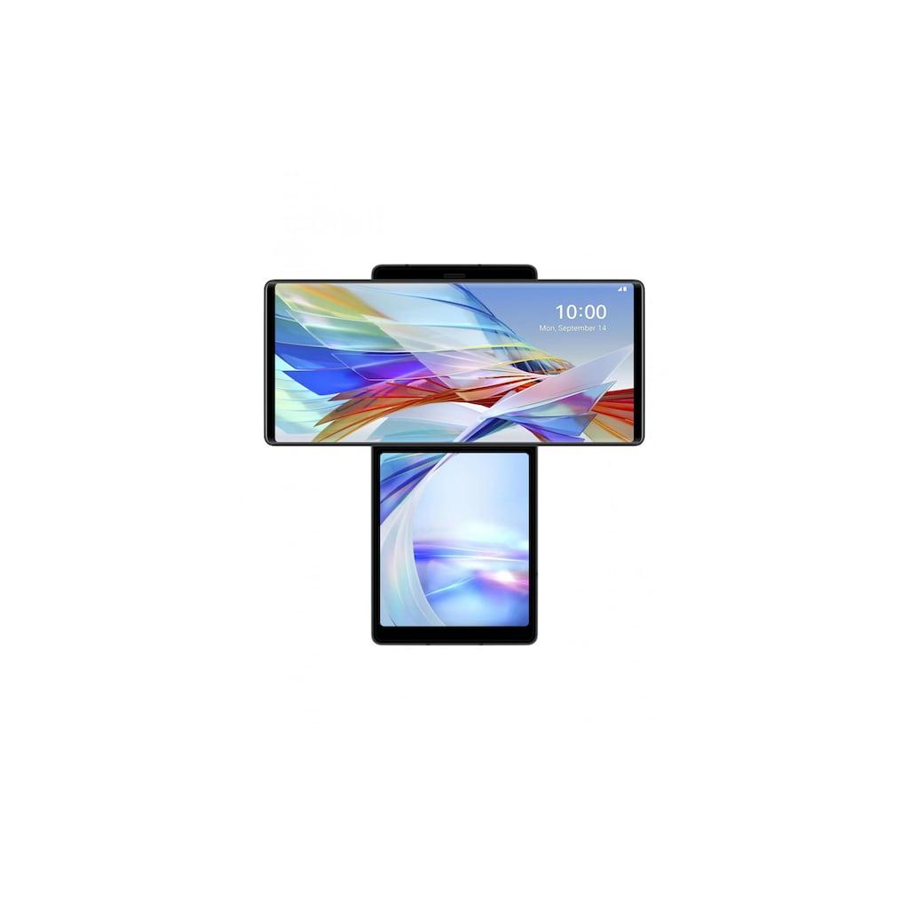 "LG Smartphone »Wing«, (17,27 cm/6,8 "", 128 GB Speicherplatz, 64 MP Kamera)"