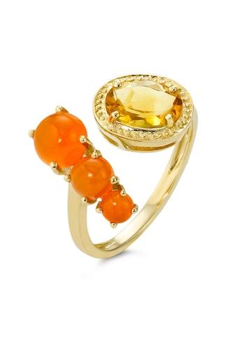 Ring 375 Citrine/Kornaline kaufen