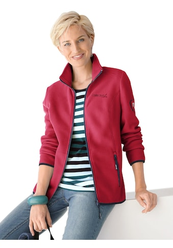 Casual Looks  Fleece - Jacke mit Umlegekragen kaufen
