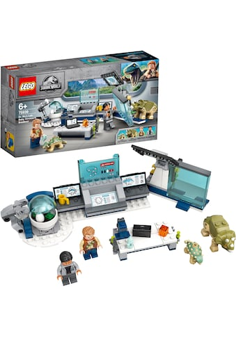 LEGO® Konstruktionsspielsteine »Dr. Wus Labor: Ausbruch der Baby-Dinosaurier (75939), LEGO® Jurassic World™«, (164 St.) kaufen