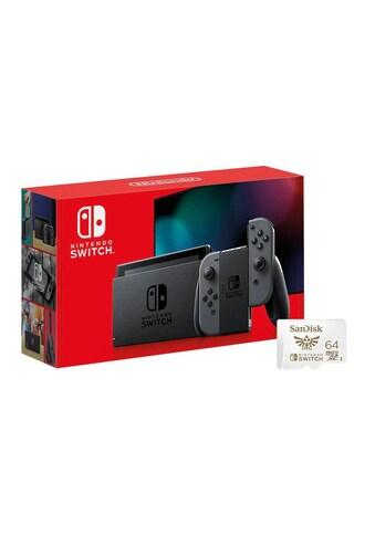Switch Rot/Blau inklusive 64GB SD - Karte, Nintendo kaufen