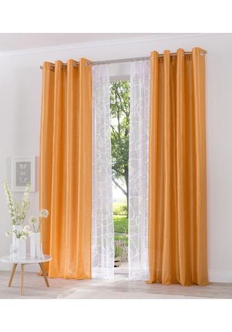 my home Gardine »Mirow«, Vorhang, Fertiggardine, transparent kaufen