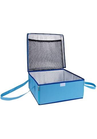 WENKO Kühltasche BLAU, 23 Liter kaufen