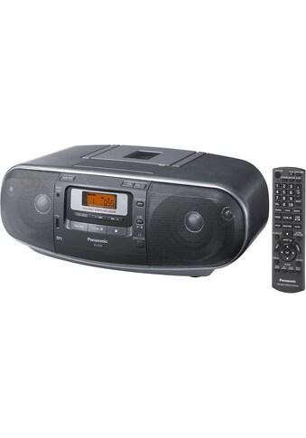 Panasonic Radio »D55AEG-K Grau«, ( FM-Tuner ) kaufen