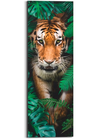 Holzbild »Walking Tiger«, (1 St.) kaufen