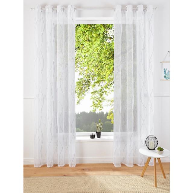 Gardine, »Mila«, Guido Maria Kretschmer Home&Living, Ösen 1 Stück