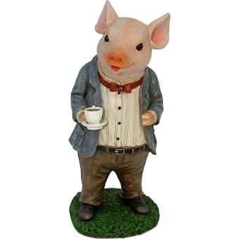 Home affaire Tierfigur »Schwein im Anzug trinkt Kaffee« acheter