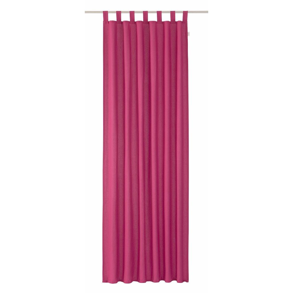 Vorhang, »DOVE«, TOM TAILOR, Schlaufen 1 Stück