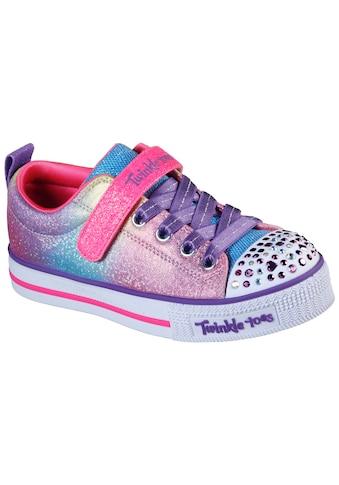 Skechers Kids Sneaker »TWINKLE LITE-SWEETS SUPPLY«, mit blinkender Zehenkappe kaufen