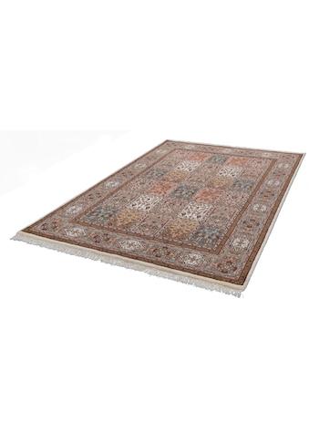 THEKO Orientteppich »Benares Bachtiari«, rechteckig, 12 mm Höhe, reine Wolle, handgeknüpft, mit Fransen, Wohnzimmer kaufen