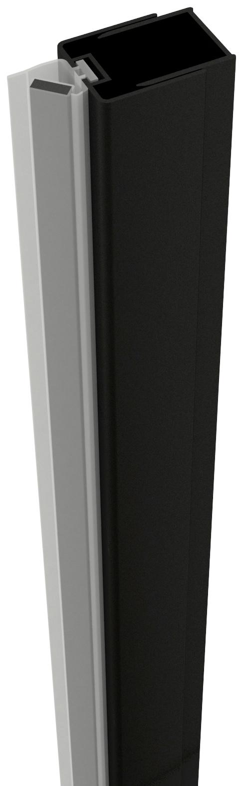 Image of Abschlussprofil »ELITE«, mit Magnetleiste, zur Montage von Duschtüren an die Wand
