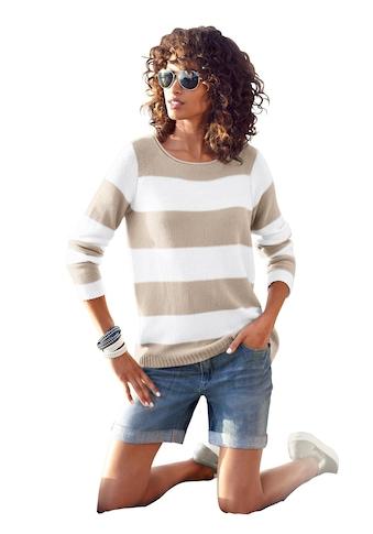 Ambria Pullover mit breiten Streifen kaufen