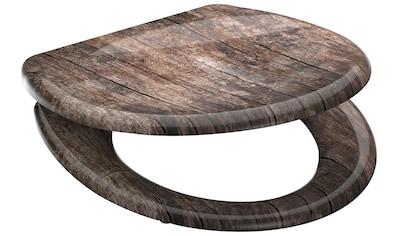 WELLTIME WC - Sitz »Used Wood«, mit Absenkautomatik, abnehmbar kaufen