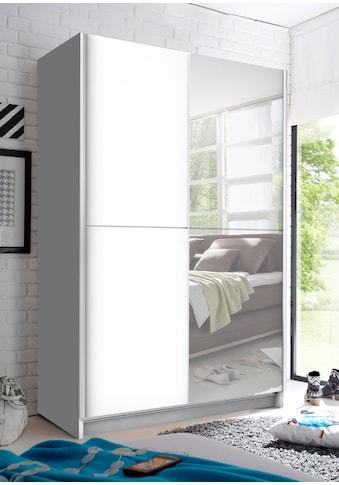 Schlafkontor Schwebetürenschrank, mit Spiegel, Teleskopkleiderstange und zusätzlichen... kaufen