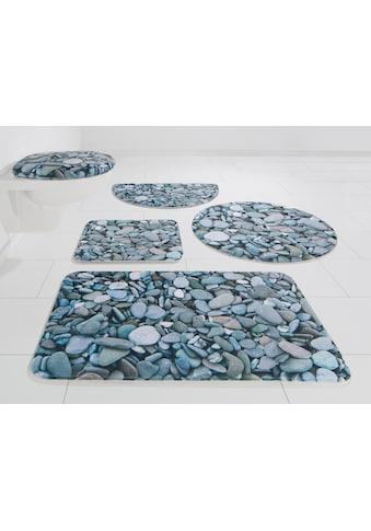 Badematte »Steine«, my home, Höhe 14 mm, rutschhemmend beschichtet Memory Schaum kaufen