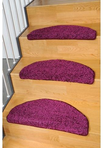 Living Line Stufenmatte »Shaggy Pulpo«, halbrund, 22 mm Höhe, 15 Stück in einem Set kaufen