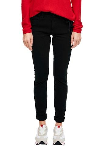 s.Oliver Skinny-fit-Jeans »Izabell«, in coolen, unterschiedlichen Waschungen kaufen