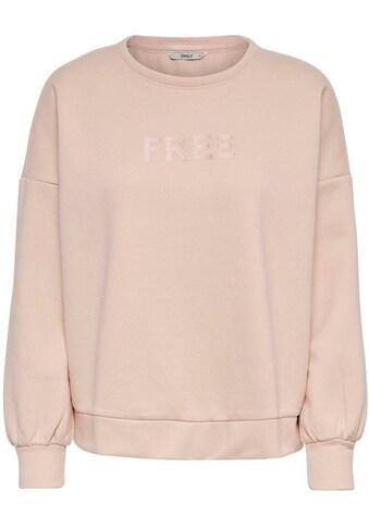 Only Sweatshirt »ONLAMELIA« kaufen