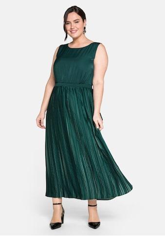 Sheego Abendkleid, in edler Two-Tone-Optik kaufen