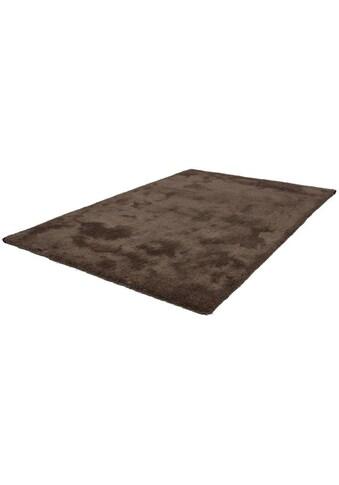 LALEE Hochflor-Teppich »Velvet«, rechteckig, 25 mm Höhe, Besonders weich durch Microfaser, Wohnzimmer kaufen