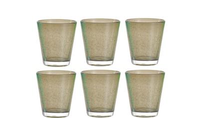 LEONARDO Glas »Leonardo Trinkglas Burano Basalto 3«, (6 tlg.), 6 teilig kaufen