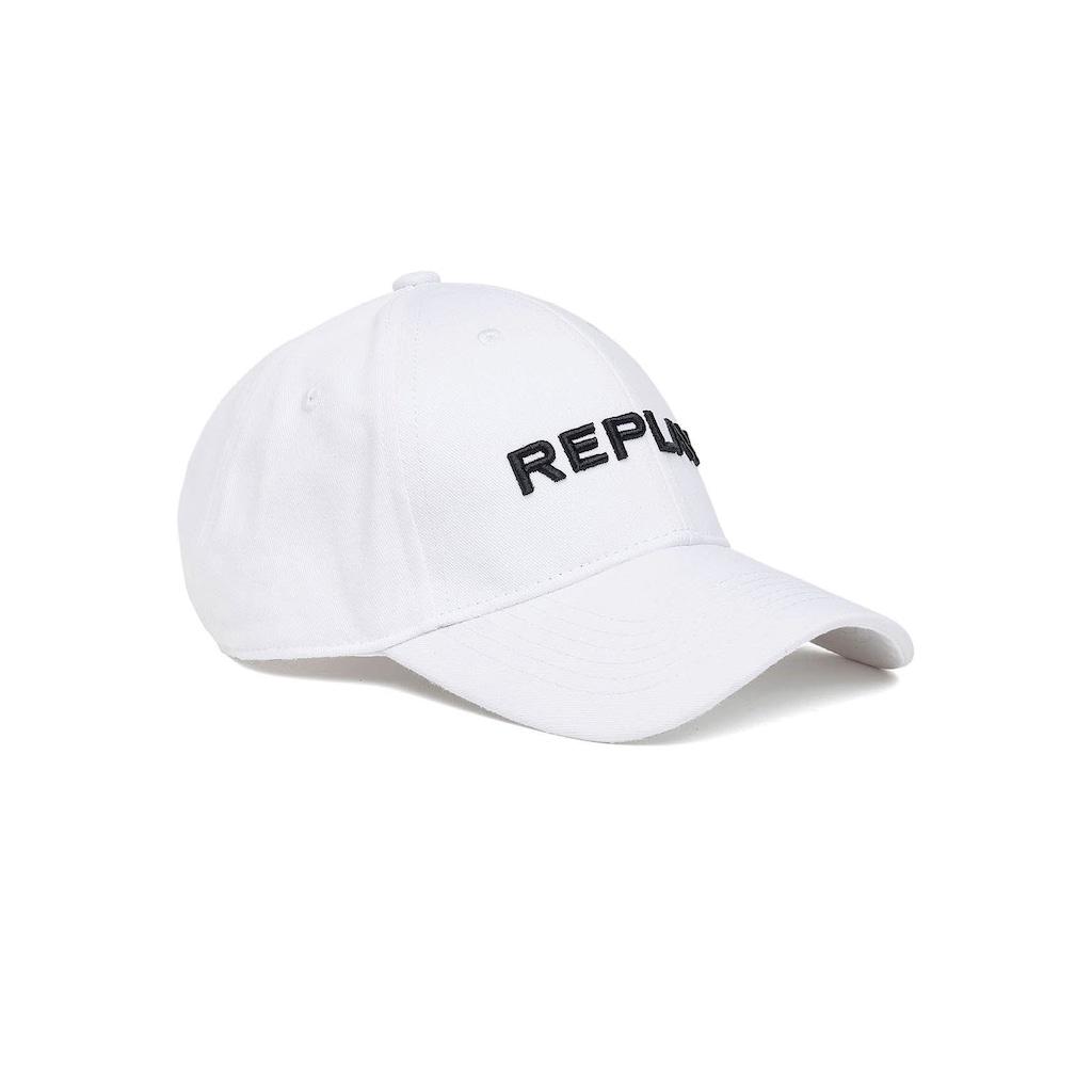 Replay Baseball Cap, mit gesticktem REPLAY-Schriftzug an der Vorderseite
